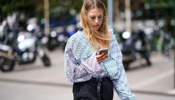 Street Style : Paris Fashion Week - Menswear Spring/Summer 2020 : Day Two