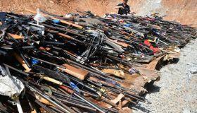 Yunnan Police Destroy Over 9,000 Illegal Firearms