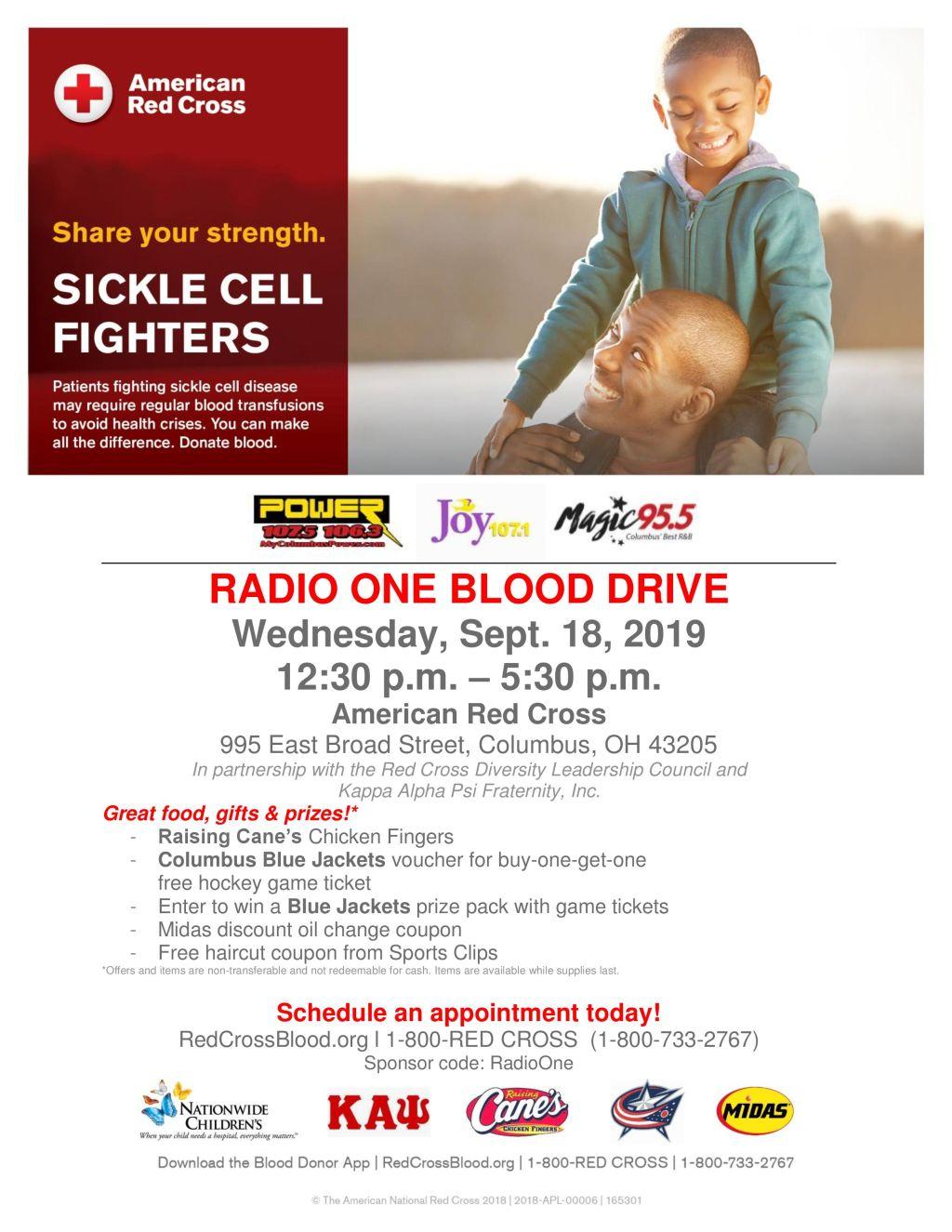 Radio One Blood Drive