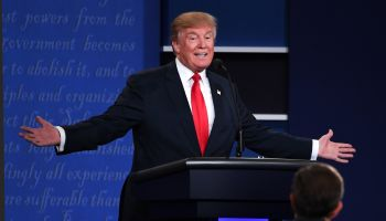 The third and final presidential debate at the University of Nevada Las Vegas (UNLV)