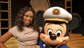 Jennifer Hudson - Godmother Of The New 'Disney Dream' Ship - Christening