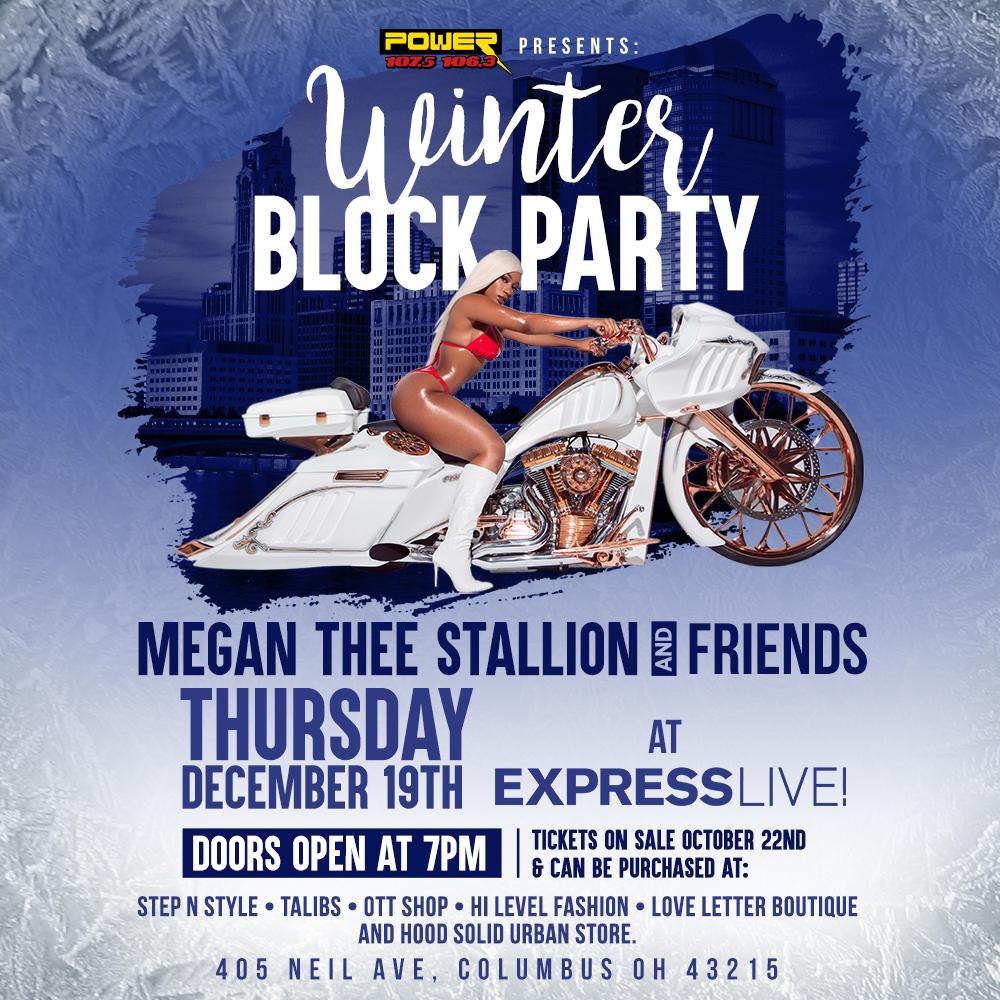 Megan Thee Stallion NEW venue
