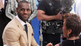 LeBron James visits 'Good Morning America'