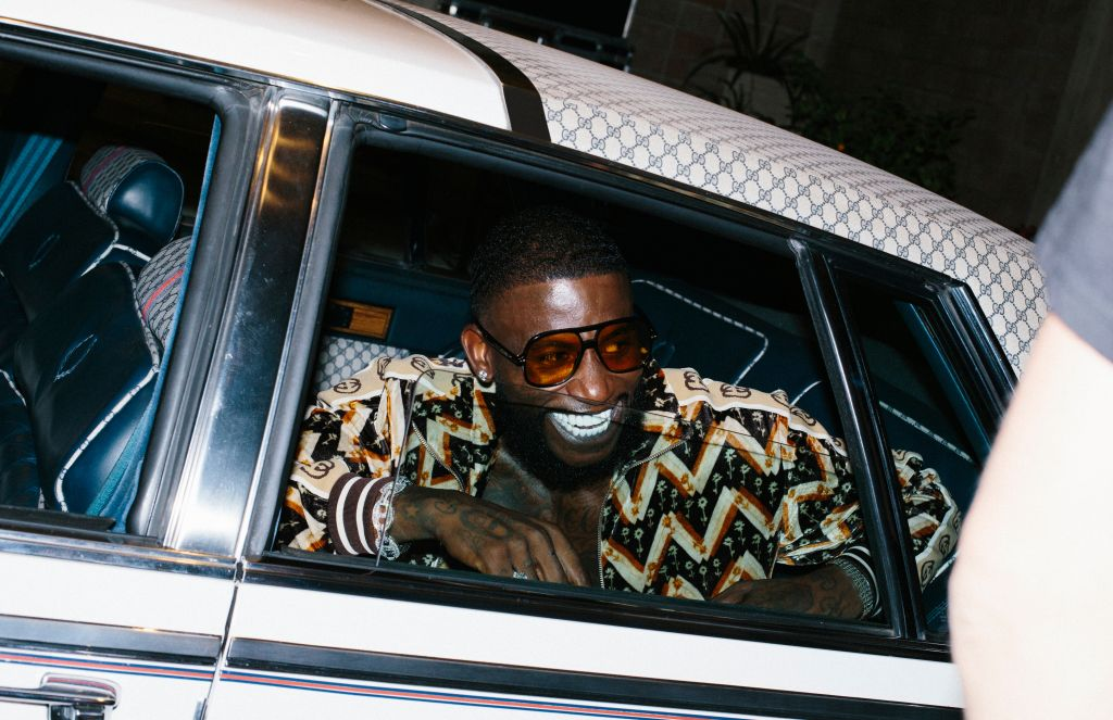 GUCCI MANE FOR GUCCI CRUISE COLLECTION