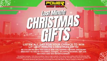 Power Last Minute Christmas Gifts Giveaway