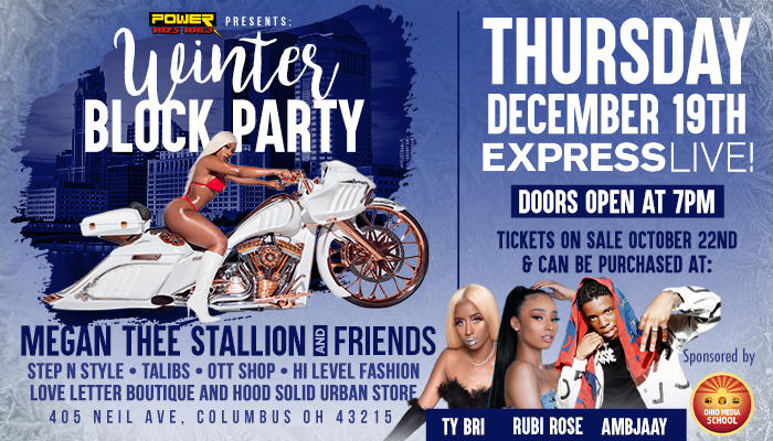 Winter Block Party Starring Megan Thee Stallion & Friends