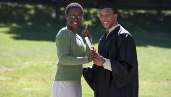 parents with graduate