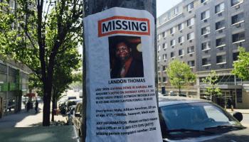 Landon Thomas Missing Persons Flier