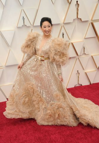 Sandra Oh at arrivals for The 92nd Acade...