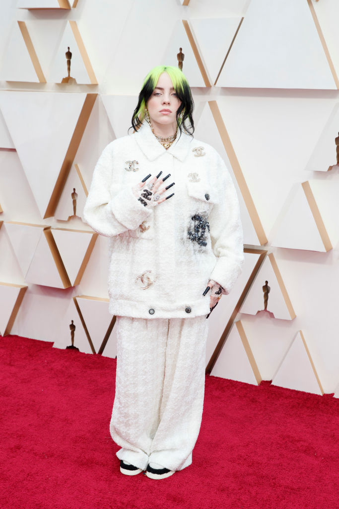Billie Ellish in Chanel