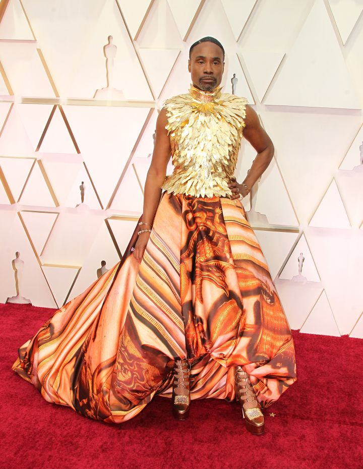 Billy Porter in Giles Deacon Couture