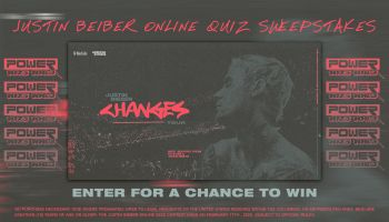 Justin Beiber Online Quiz Sweepstakes - FEATURE IMAGE