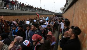 Anti-govt protests in Iraq's Baghdad