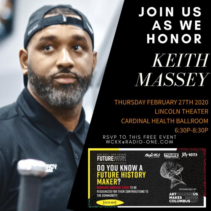Future History Makers 2020: Keith Massey