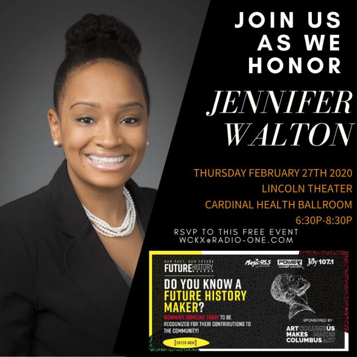 Future History Makers 2020: Jennifer Walton