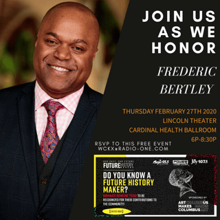 Future History Makers 2020: Dr. Frederic Bertley