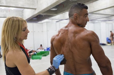 Arnold Classic Europe 2015 expo - Backstage