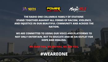 We Are One Radio One Columbus Statement