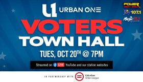 An Urban One Voting Town Hall 10/20